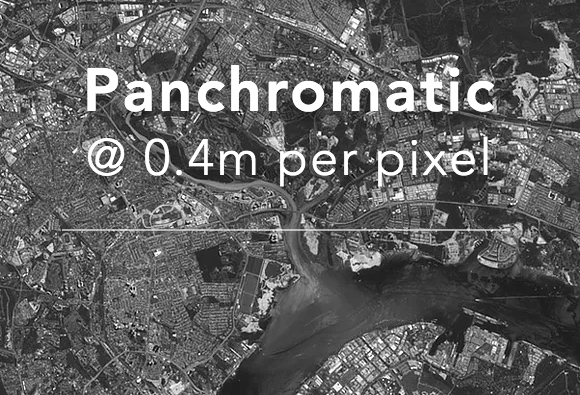 Panchromatic imagery